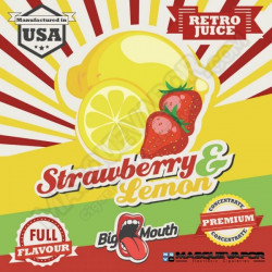 STRAWBERRY & LEMON CONCENTRATE 10ML