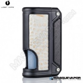 LOST VAPE THERION BF DNA75C BLACK BODY WHITE COCODRILE