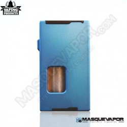 VAPEAMP SQUONK BOX MOD BY RIG MOD BLUE