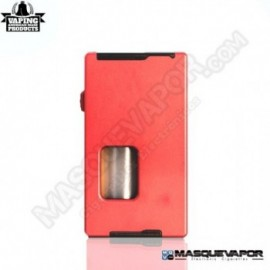 VAPEAMP SQUONK BOX MOD BY RIG MOD RED