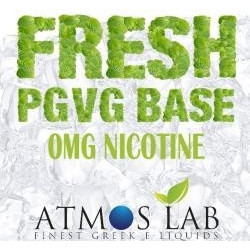 FRESH PGVG BASE 0mg - Atmos Lab