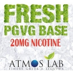 FRESH PGVG BASE 20mg - Atmos Lab