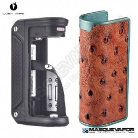 LOST VAPE THERION DNA75 RED OSTRICH
