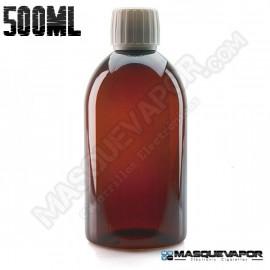 500ML PET AMBER BOTTLE