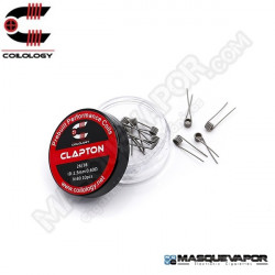 PERFORMANCE COIL CLAPTON Ni80 26/36 PACK 10 COILS COILOLOGY