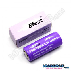 Efest Purple 26650 v1 64A (Flat Top)