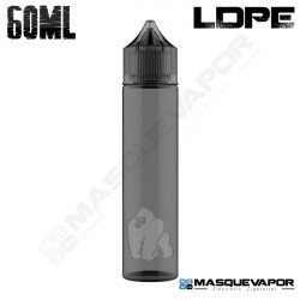 60ML CHUBBY GORILLA LDPE BOTTLE BLACK