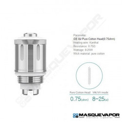 IJUST START GS AIR COIL 0.75OHM - PACK 1 RESISTENCIA