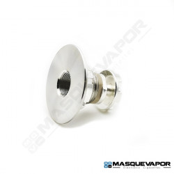 RESET V2 22MM 510 CONNECTOR RESET MODS SILVER PLATED