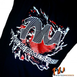TWISTED MESSES T-SHIRT MEDIUM SIZE