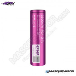 EFEST PURPLE 18650 40A 2600MAH FLAT TOP