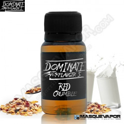 RED CRUMBLE DOMINATE FLAVORS 15ML