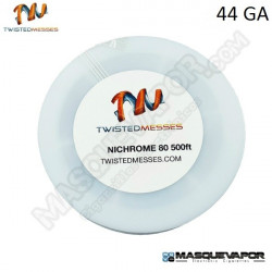 TWISTED MESSES N80 WIRE 44GA 500FT / 150M