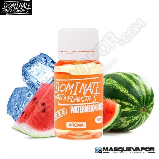 ICED WATERMELON DOMINATE FLAVORS 15 ML