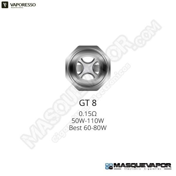 VAPORESSO GT8 CORE 0.15OHM NRG TANK COIL