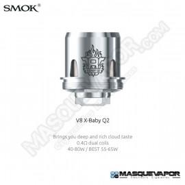 SMOK V8 X-BABY Q2 COIL 0.4OHM SMOK TFV8 X-BABY