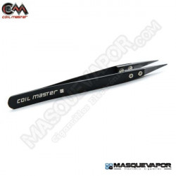 CERAMIC TWEEZERS COIL MASTER BLACK