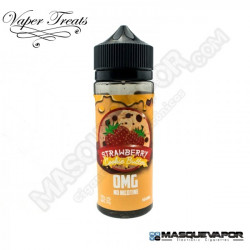 STRAWBERRY COOKIE BUTTER VAPER TREATS TPD 100ML 0MG