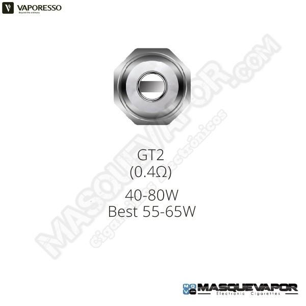 VAPORESSO GT2 CORE 0.4OHM NRG TANK COIL