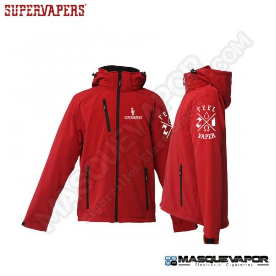 MAN´S JACKET FEELVAPER RED SUPERVAPERS SIZE: M