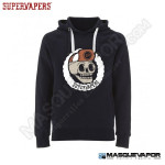 MAN SKULL NAVY SWEATSHIRT SUPERVAPERS SIZE: M