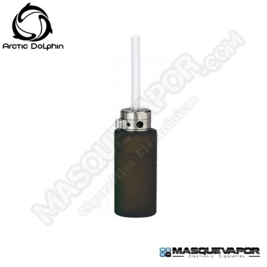 SQUONK BOTTLE SILICONE V2 (ROUND) 8ML ARCTIC DOLPHIN FOR MODS BF BLACK