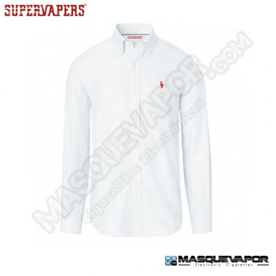 WHITE SHIRT OXFORD CLASSIC SUPERVAPERS SIZE: S