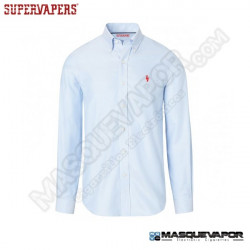 CAMISA CELESTE OXFORD CLASSIC SUPERVAPERS TALLA: 2XL