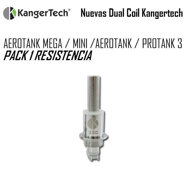AEROTANK MEGA / MINI - Pack 5 Resistencias