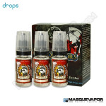 CAESAR DROPS ELIQUIDS TPD 3X10ML 3MG