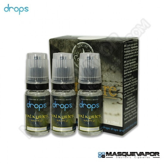 VALKYRIE'S BOUNTY DROPS ELIQUIDS TPD 3X10ML 0MG