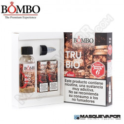 TRUBIO HIGH VG BOMBO ELIQUIDS TPD 60ML 6MG
