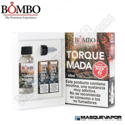 TORQUEMADA HIGH VG BOMBO ELIQUIDS TPD 60ML 6MG