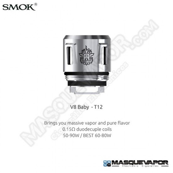 SMOK V8 BABY-T12 COIL SMOK TFV12 BABY PRINCE TANK