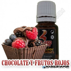 CHOCOLATE Y FRUTOS ROJOS FLAVOR 10ML OIL4VAP