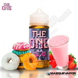 FROSTED DONUT CEREAL DIPPED IN STRAWBERRY MILK THE ONE E-LIQUIDS TPD 100ML 0MG