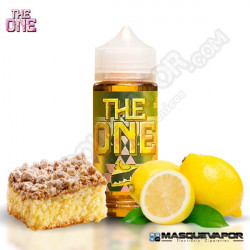 CREAMY LEMON CRUMBLE CAKE THE ONE E-LIQUIDS TPD 100ML 0MG