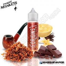 PATAS PIPE TWELVE MONKEYS ORIGINS TPD 50ML 0MG