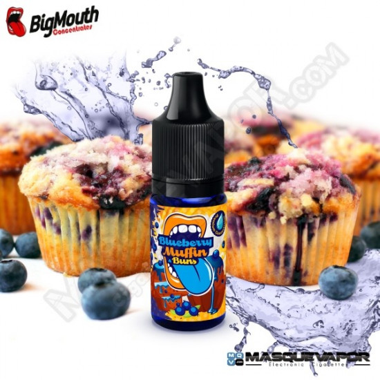 BLUEBERRY MUFFIN BUNS BIG MOUTH CONCENTRATE 10ML