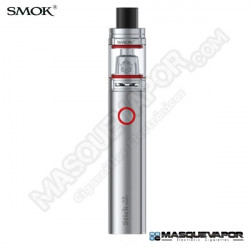 SMOK KIT STICK V8 BABY 2ML TPD READY SILVER
