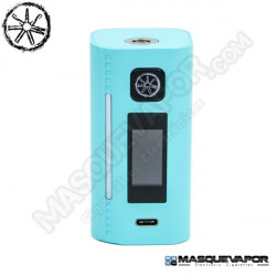 ASMODUS LUSTRO 200W BOX MOD TIFFANY BLUE