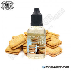 CUSTARD CREAM FLAVOR 30ML CHEFS FLAVOURS