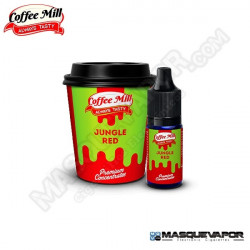JUNGLE RED 10ML FLAVOR VAPE COFFEE