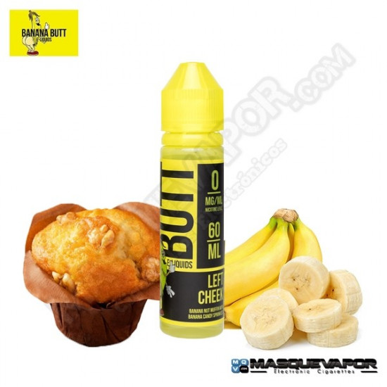 LEFT CHEEK BANANA BUTT 50ML TPD 0MG