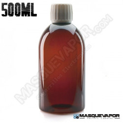 500ML PET AMBER BOTTLE