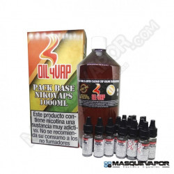 PACK BASE OIL4VAP TPD 1L 50PG/50VG 3MG