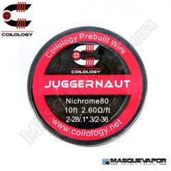 SPOOL WIRE JUGGERNAUT Ni80 2-28/.1*.3/2-36 COILOLOGY