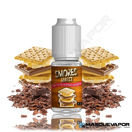 CHOCOLATE CHIP AND GRAHAM CRACKERS 10ML SMORES ADDICT