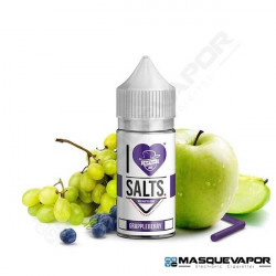 GRAPPLEBERRY I LOVE SALTS MAD HATTER JUICE TPD 10ML 20MG