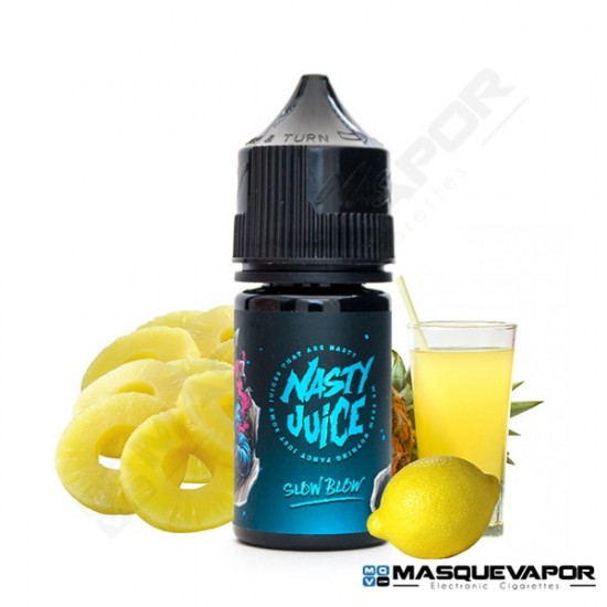 SLOW BLOW FLAVOUR 30ML NASTY JUICE